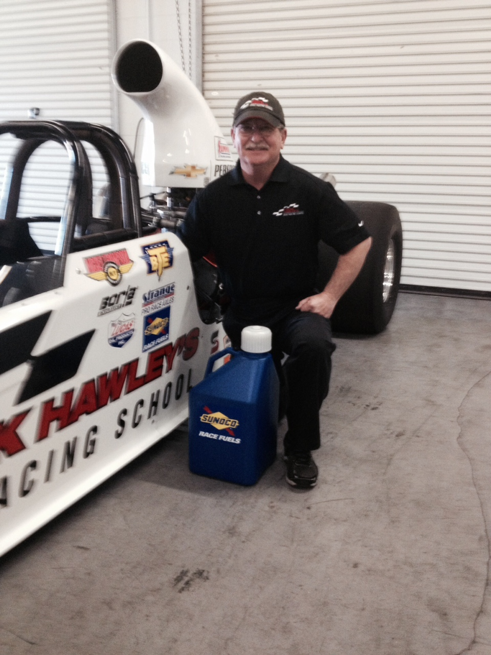 Sunoco Race Fuels Joins Frank Hawley's Drag Racing School