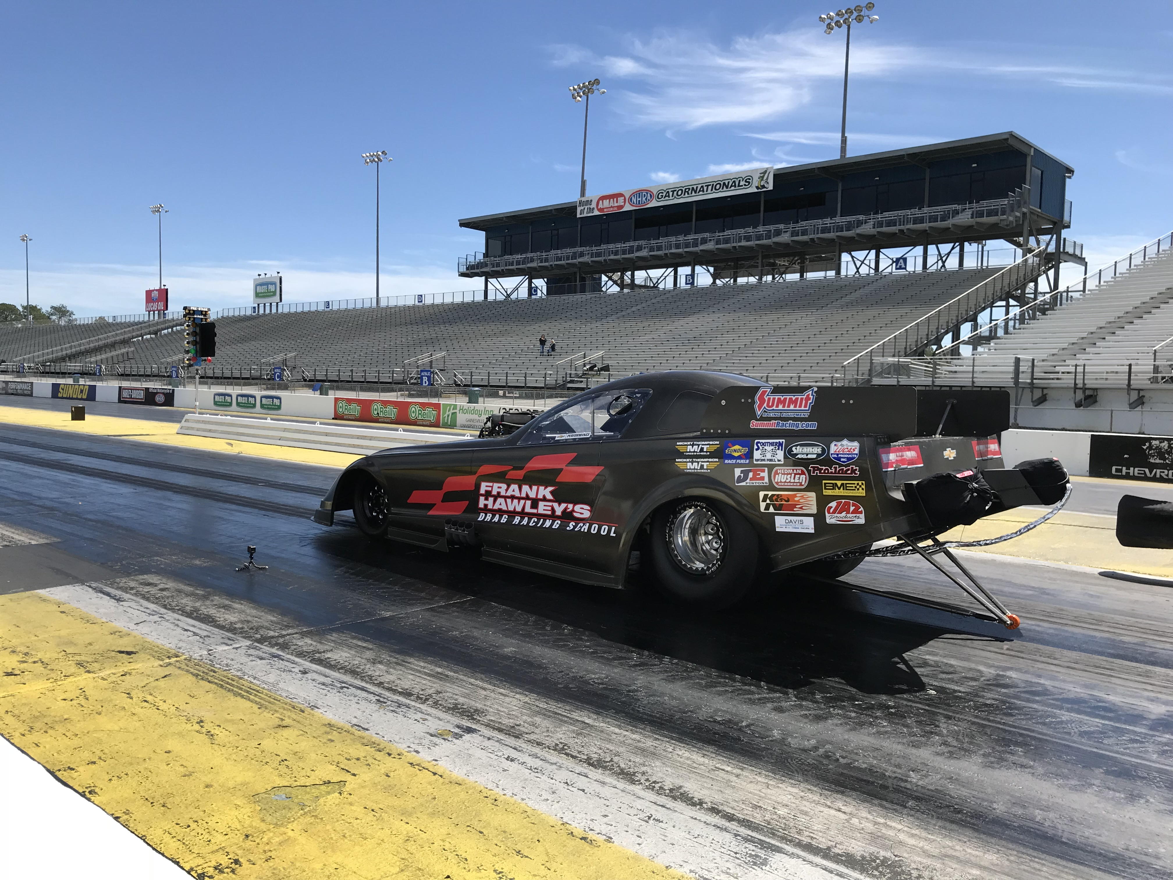 200 MPH Plus Funny Car or Dragster | Frank Hawley